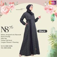 Sale Baju Gamis ORI Nibras NS 76 - Black, XS