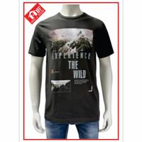 Kaos oblong pria t-shirt distro cowok keren lengan pendek CARDINAL 027
