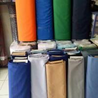 bahan kain celana drill - abu muda