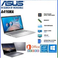 ASUS VIVOBOOK A416MA N4020 SSD 14 FHD W10 OFFICE
