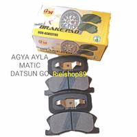 Kampas rem depan brake pad Agya Ayla Matic Datsun Go