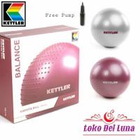 gym ball 65cm KETTLER HALF MASSAGE POINT GYMBALL
