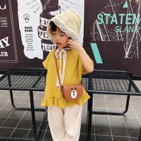 ARAMI Stylish Fashion Kids Coin Pouch Tas Belanja Dompet Celengan Anak