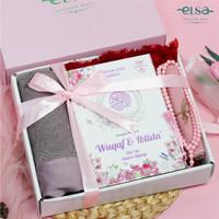 Paket Seserahan Luxury Mukena Eira Set Mahar Pernikahan Rukuh