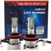 lampu LED autovision XAND 6500K H11/H27/H3/H7/HB3/HB4