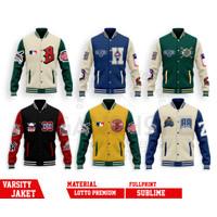 JAKET Varsity Jacket Baseball MLB & NBA JAKET BASKET BALL allstar
