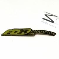 Stiker Ban FDR Tire Bukan Sticker Bridgestone Dunlop