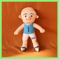 Boneka Upin dan Ipin Ukuran M Tinggi 35cm Berlabel SNI - Ipin, Tinggi =35cm
