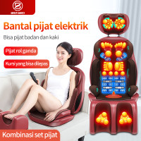 bantal pijat elektrik/kursi pijat seluruh tubuh/bantal pijat portabel
