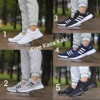 Adidas Zoom size 39-44 sepatu pria olahraga running grade ori