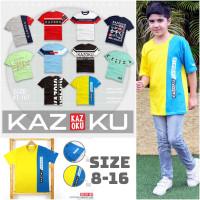 Baju Kaos Anak Laki-laki Remaja Junior Teen - KCKA-kuningbiru, 8