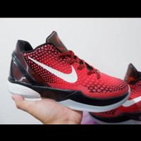 Sepatu Basket Nike Kobe 6 Black Red