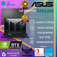 LAPTOP GAMING ASUS TUF FX516PE I7 11370H/16GB/RTX3050TI 4GB