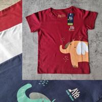 Kaos Oblong T-Shirt anak gambar ELEPHANT
