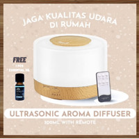 Ultrasonic Aroma Diffuser 500ml with Remote   Humidifier   LARGE SIZE