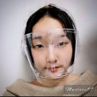 Faceshield Acrylic Visor Mika Clear Antifog