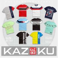 Baju Kaos Anak Laki-laki Remaja Junior Teen