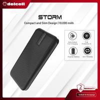 Delcell STORM 10000mAh Real Capacity Powerbank Slim