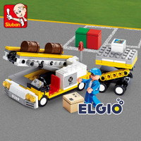 Brick Sluban Mobil Kargo Pesawat M38 B0369