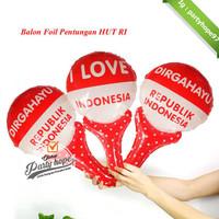 BARU balon pentung merah putih / Balon foil HUT RI balon 17 agustus /