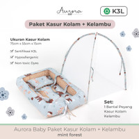 Aurora Baby Paket Kasur Kolam + Kelambu