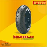 Ban Pirelli Diablo Rosso Scooter 120/70 Ring 12 F/R