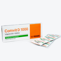 NOVAPHARIN COMVIT D 1000IU DUS (3 STRIP @10) / VITAMIN D