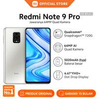 Xiaomi Official Redmi Note 9 Pro 6/64 GB Garansi Resmi Mi Smartphone