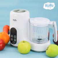 KURU FP5800 4in1 Baby Food Processor Food Maker Steamer Blender MPASI