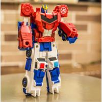 Tranformer Magnetic 2in1 Mainan Anak Robot