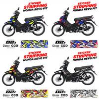 Striping Sticker Decal Motor Honda Revo Fit Variasi AR-02 GLOSSY