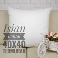 Bantal Sofa 20x20, 30x30, 40x40, 45x45, 50x50, 60x60, 70x70, Dacron