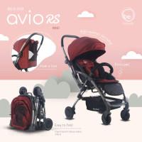 kereta dorong bayi hadap ibu stroller babyelle baby elle 939 Avio