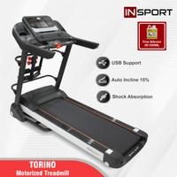 Alat Fitness Treadmill Elektrik Insport Torino