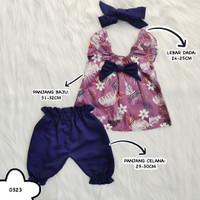 baju dress anak bayi perempuan cewek lucu pergi jalan bestseller -gol
