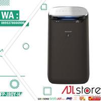 Sharp Air Purifier FP-J80Y-H Black IoT