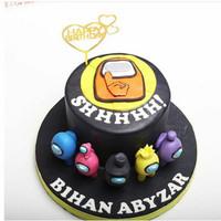 Kue Ulang Tahun / Birthday Cake model US / MOHON BACA KETERANGAN
