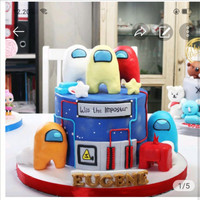 Kue Ulang Tahun Bday Cake model US / MOHON BACA KETERANGAN