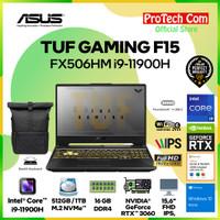 ASUS TUF F15 FX506HM i9-11900H 16GB 1TB SSD RTX3060 6GB OHS W10 144Hz