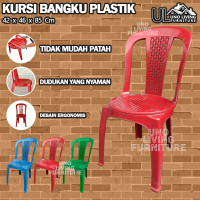 kursi / bangku plastik sender kursi sandaran plastik Kingstar