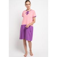 Baju Tidur Puppy Dress Ungu Pink