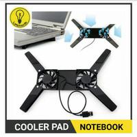 Cooling pad laptop   pendingin laptop   kipas laptop - Model X