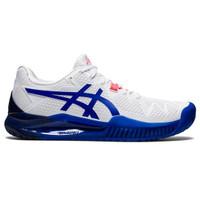 Sepatu Tennis Asics Gel Resolution 8 White/Lazuli Blue W Original