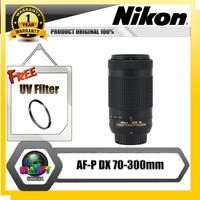 Lensa nikon af p dx 70-300mm ed vr