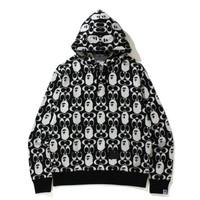 BAPE x Coach Pullover Hoodie Black 100% Original