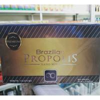 Brazilian Propolis Nano Mint isi 5 botol Original