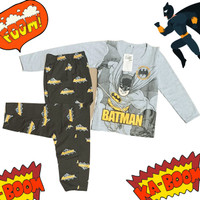 Setelan Baju Tidur Anak Laki Laki/ Piyama Anak Pria 4-12 tahun