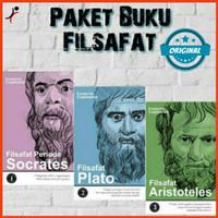 PAKET BUKU FILSAFAT SOCRATES PLATO ARISTOTELES