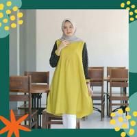 Baju Tunik Jumbo Wanita ABMONICA Busana Muslim Ukuran BigSize LD 120