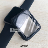 Apple Watch 2 3 4 5 Casing & Glass Full cover TG Hard Case 38mm 40mm